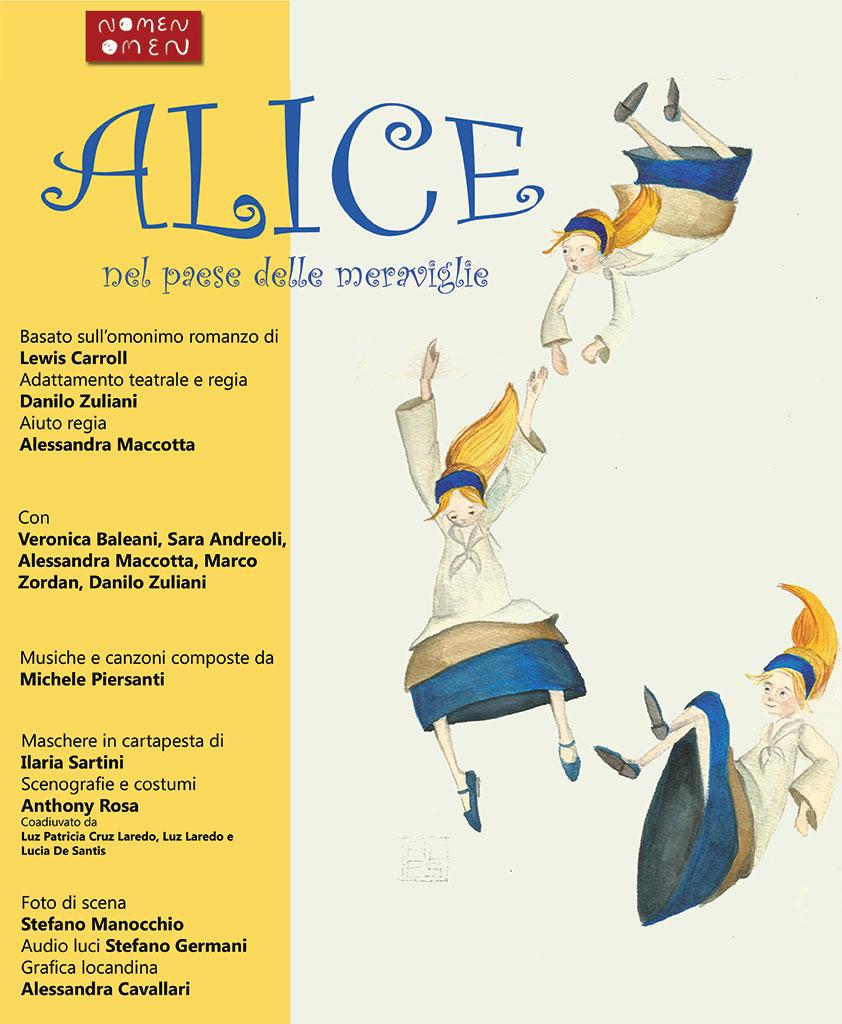 nomenomen - Alice nel paese delle meraviglie